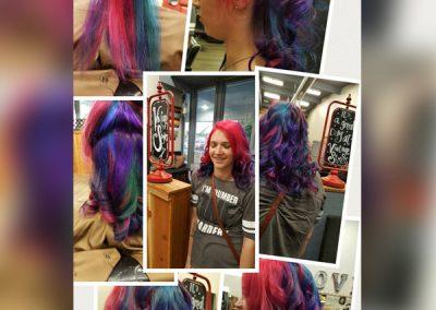 fremont rainbow hair style