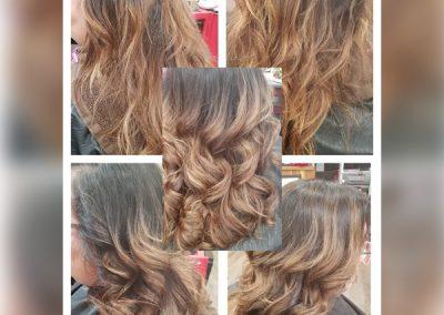 vintage styles salon hair coloring